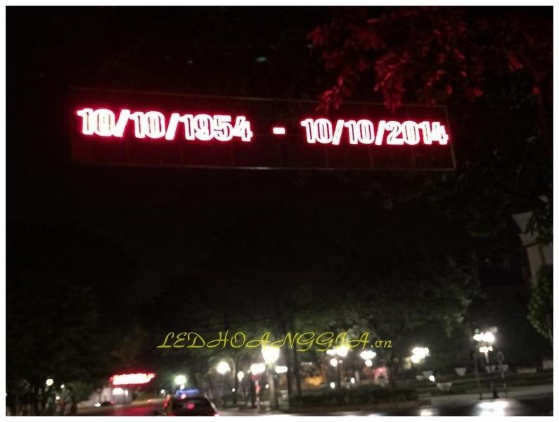 bộ chữ chào mừng giải phóng thủ đô