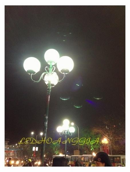 Thi công cột đèn cao áp, đèn 4 bóng, đèn nấm chiếu sáng đô thị