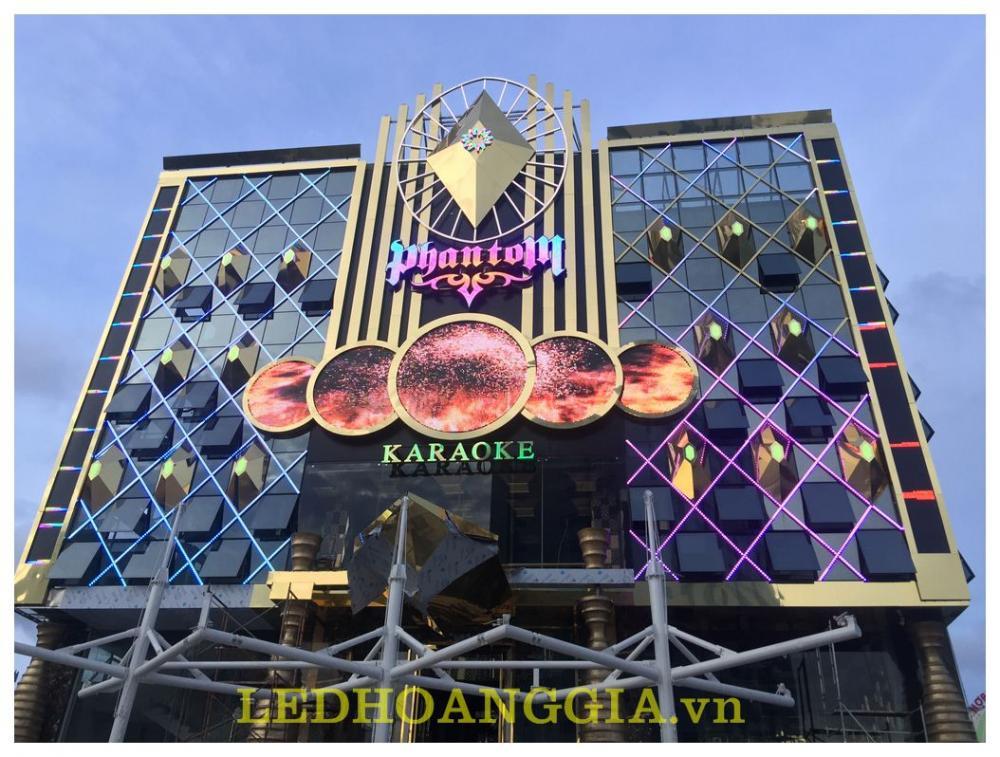 Thi công biển quảng cáo KARAOKE PhanTom HẠ LONG