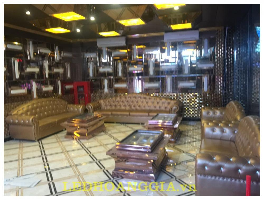 Thi công nội thất, sảnh, hành lang KARAOKE PHANTOM