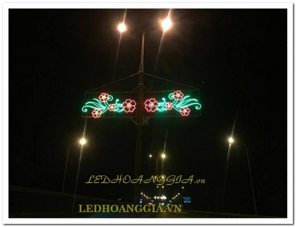 trang trí đô thị, trang trí đường phố, cổng chào LED, đài phun nước