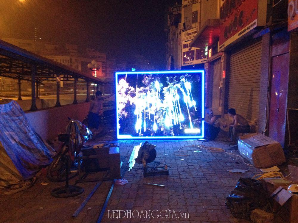 màn  hình led full p10 ngoài trời SMD
