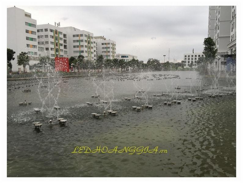 Cung cấp lắp đặt hệ thống phun nước trang trí đô thị